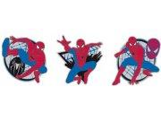 Dekorace Spiderman D23668, 3 ks Dětské dekorace na zeď