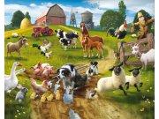 3D fototapeta Walltastic Farma 41806 | 305x244 cm Fototapety pro děti