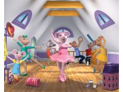 3D Fototapeta Angelina Ballerina 40557, 305 x 244 cm Fototapety pro děti