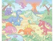3D fototapeta Walltastic Baby Dino 40618 | 305x244 cm Fototapety pro děti