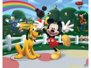 3D fototapeta Walltastic Mickeyho klubík 42056 | 305x244 cm Fototapety pro děti