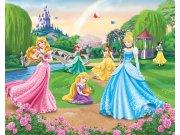 3D fototapeta Walltastic Princezny 42087 | 305x244 cm Fototapety pro děti