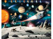 3D fototapeta Walltastic Vesmír 41837 | 305x244 cm Fototapety pro děti