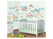 Samolepicí dekorace Walltastic Baby farma 41066 Dětské samolepky na zeď