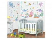 Samolepicí dekorace Walltastic Baby moře 41073 Dětské samolepky na zeď