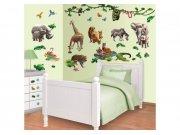 Samolepicí dekorace Walltastic Džungle 41080 Dětské samolepky na zeď