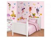 Samolepicí dekorace Walltastic Fairies 41110 Dětské dekorace na zeď