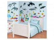 Samolepicí dekorace Walltastic Moře 41097 Dětské samolepky na zeď