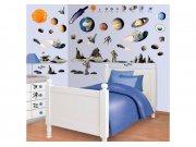 Samolepicí dekorace Walltastic Vesmír 41127 Dětské samolepky na zeď