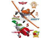 Samolepicí dekorace Planes Dusty DK-1764, 85x65 cm Dětské samolepky na zeď