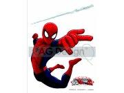 Samolepicí dekorace Spiderman DK-1710, 85x65 cm Dětské samolepky na zeď