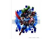 Samolepicí dekorace Avengers neporazitelní DK-1715, 85x65 cm Dětské samolepky na zeď