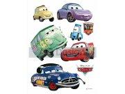 Samolepicí dekorace Cars a Kamarádi DK-0851, 85x65 cm Dětské samolepky na zeď