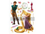 Samolepicí dekorace Rapunzel a Princ DK-0852, 85x65 cm Dětské samolepky na zeď