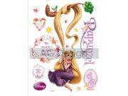 Samolepicí dekorace Rapunzel a magic DK-0853, 85x65 cm Dětské samolepky na zeď