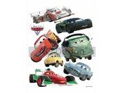 Samolepicí dekorace Cars a ralye DK-0886, 85x65 cm Dětské samolepky na zeď