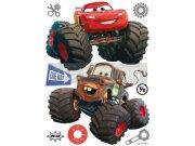 Samolepicí dekorace Cars monster track DK-1765, 85x65 cm Dětské samolepky na zeď