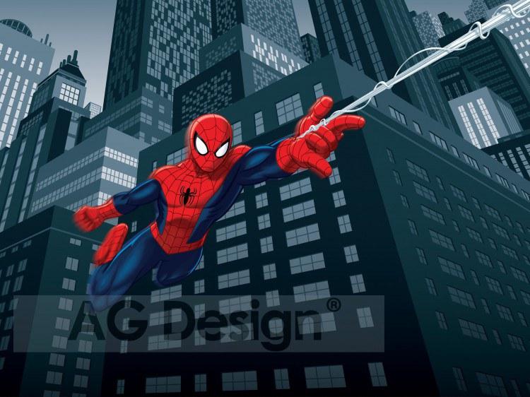 Dětská papírová fototapeta AG Design Spiderman FTDS-2208, rozměry 360 x 254 cm