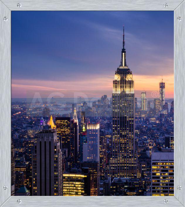 Fototapeta papírová AG Design Ranní město FTL-1633, rozměry 180 x 202 cm
