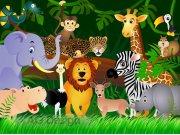 Fototapeta papírová Jungle FTS 1307, 360x254 cm Fototapety skladem
