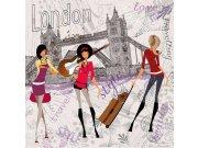 Vliesová fototapeta Dimex Londýnský styl L-437 | 220x220 cm Fototapety vliesové