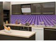 Fototapeta mezi kuchyňskou linku Levandule KI-180-029, 180x60 cm Samolepící fototapety - Na kuchyňskou linku