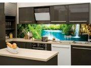 Samolepící fototapeta do kuchyně Řeka KI-180-034, 180x60 cm Fototapety skladem
