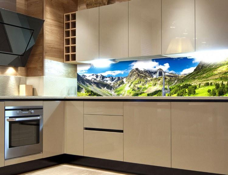 Obrazové samolepicí fototapety do kuchyně