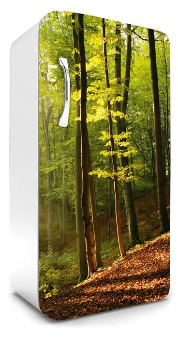 Nádherné samolepicí fototapety na lednice