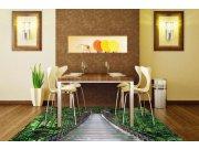 Fototapety na podlahu Most FL-170-025, rozměry 170 x 170 cm Samolepící fototapety - Fototapety na podlahu