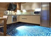 Samolepicí fototapeta na podlahu Binární proud FL-255-040, 255x170 cm Samolepící fototapety - Na podlahu