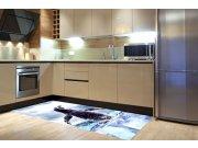 Samolepicí fototapeta na podlahu Tučňák FL85-021, 85x170 cm Samolepící fototapety - Na podlahu