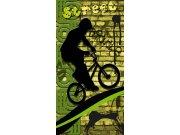 Samolepící laminovaná fototapeta D046 Bicycle, rozměry 95 x 210 cm Fototapety na dveře