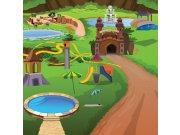 Vliesová fototapeta Dimex Park L-288 | 220x220 cm Fototapety pro děti