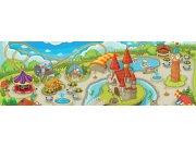 Vliesová fototapeta Dimex Zábavní park M-231 | 330x110 cm Fototapety pro děti
