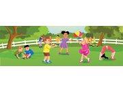Vliesová fototapeta Dimex Děti na zahradě M-239 | 330x110 cm Fototapety pro děti