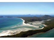 Vliesová fototapeta Dimex Pohled na pláž XL-185 | 330x220 cm Fototapety vliesové