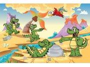 Vliesová fototapeta Dimex Krokodýlci XL-275   330x220 cm Fototapety pro děti
