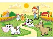 Vliesová fototapeta Dimex Farma XL-265   330x220 cm Fototapety pro děti