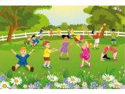 Vliesová fototapeta Dimex Děti na zahradě XL-273 | 330x220 cm Fototapety pro děti