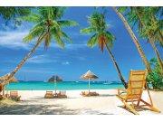 Vliesová fototapeta Dimex Tropická pláž XL-177 | 330x220 cm Fototapety vliesové