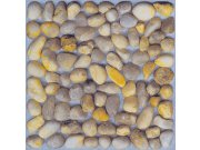 Samolepicí podlahové pvc čtverce kamínky DF0017 Samolepící dlažba