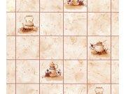 Samolepící tapeta kachličky béžové 200-2619 d-c-fix, šíře 45 cm Samolepící folie Kachličky