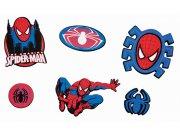 Dekorace Spiderman D23968, 14 ks Dětské dekorace na zeď