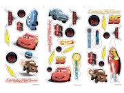 Samolepicí dekorace Cars D70003, 17x34 cm Dětské samolepky na zeď