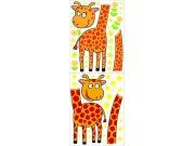 Samolepicí dekorace Žirafy K-1049, 170x65 cm Dětské samolepky na zeď