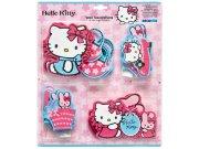 Dekorace Hello Kitty D23860, 24 ks Dětské dekorace na zeď