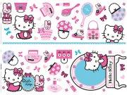 Samolepicí dekorace Hello Kitty D41060, 70x50 cm Dětské samolepky na zeď