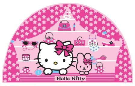 Dekorace Hello Kitty D23560, 53x28 cm - Dětské dekorace na zeď