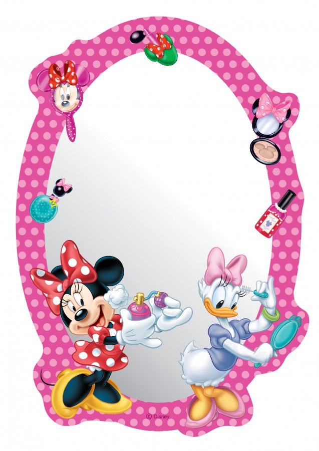 Dekorace zrcadlo Minnie DM-2118, 15x22 cm - Dětské dekorace na zeď